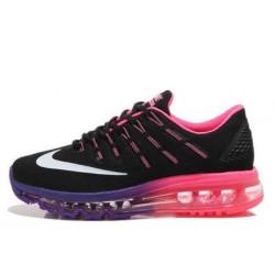 Nike Air Max 2016 черные с розовым